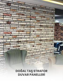 Doğal Taş Strafor Duvar Paneli