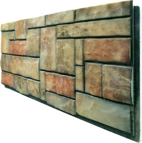 - DCS-401 Doğal Taş Strafor Dış Cephe Duvar Paneli