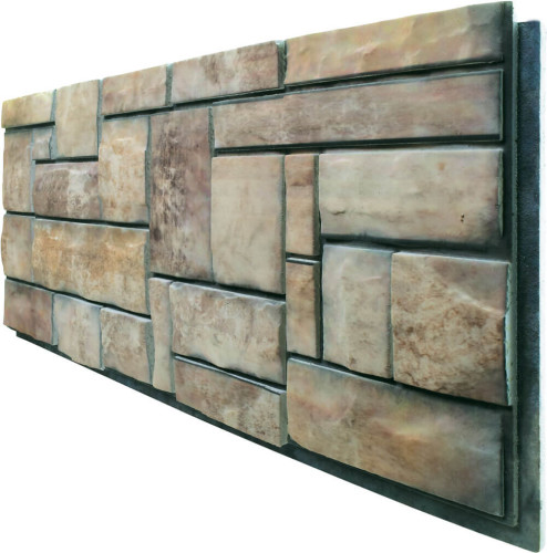 - DCS-411 Doğal Taş Strafor Dış Cephe Duvar Paneli