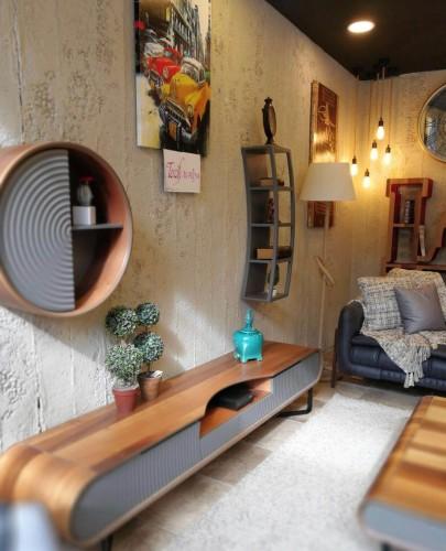 DF-1311 Beton Fiber Duvar Paneli - Thumbnail