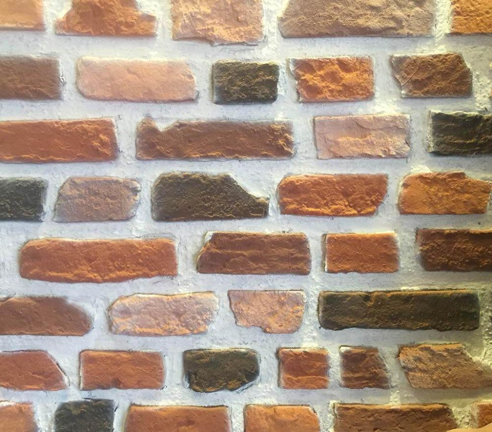 DF-1614 Tuğla Fiber Duvar Paneli