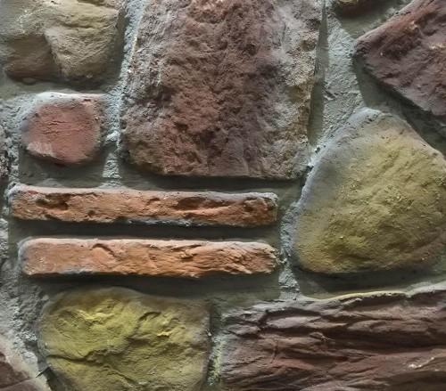 - DF-1903 Taş Fiber Duvar Paneli
