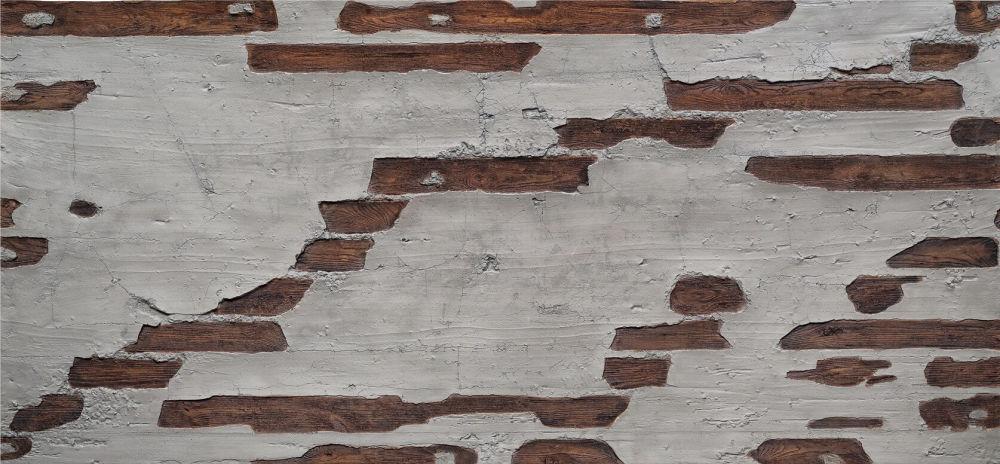 F-020-1 Ahşap Beton Fiber Duvar Paneli