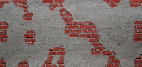 F-022-1 Tuğla Beton Fiber Duvar Paneli - Thumbnail