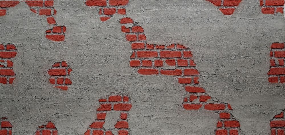 F-022-1 Tuğla Beton Fiber Duvar Paneli