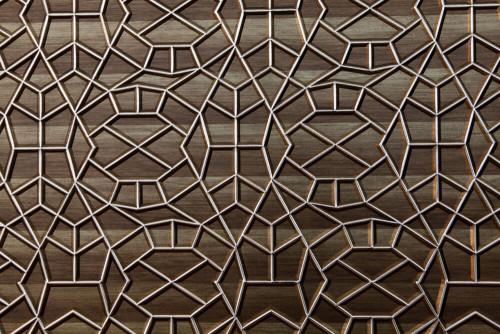 - N9091-2-110 3D Duvar Paneli