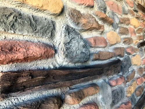 - F-034-1 Harman Taş Fiber Duvar Paneli