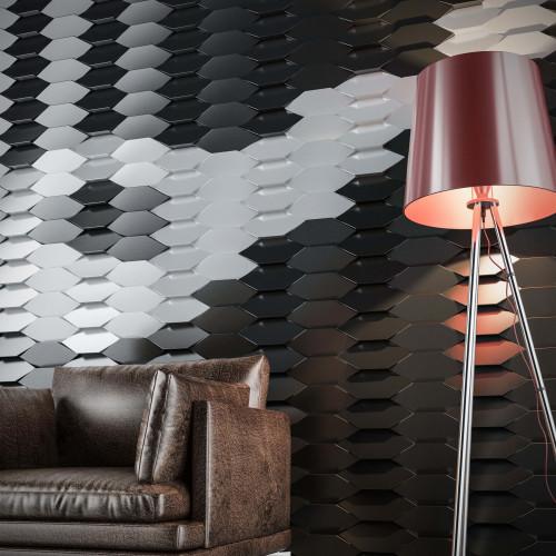 - P-102-3 Gümüş PVC Panel