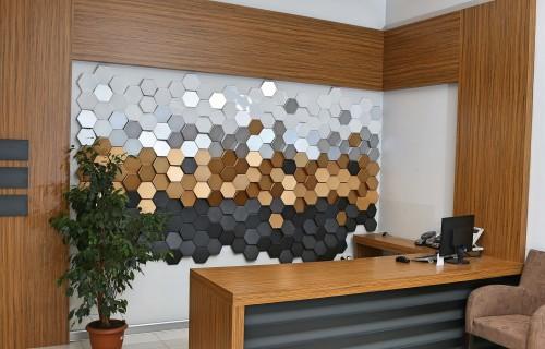 - P-104-4 Altın PVC Panel
