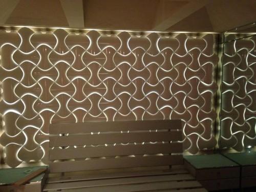 - PI-2 Işık Geçiren PVC Panel - Gri