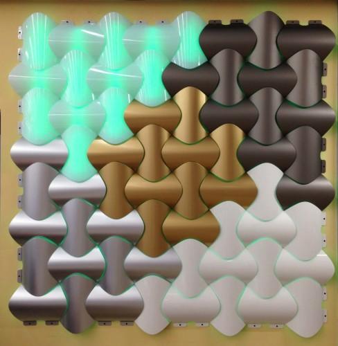 - PI-3 Işık Geçiren PVC Panel - Gümüş